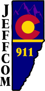 This is an image of the JeffCom 911 logo.