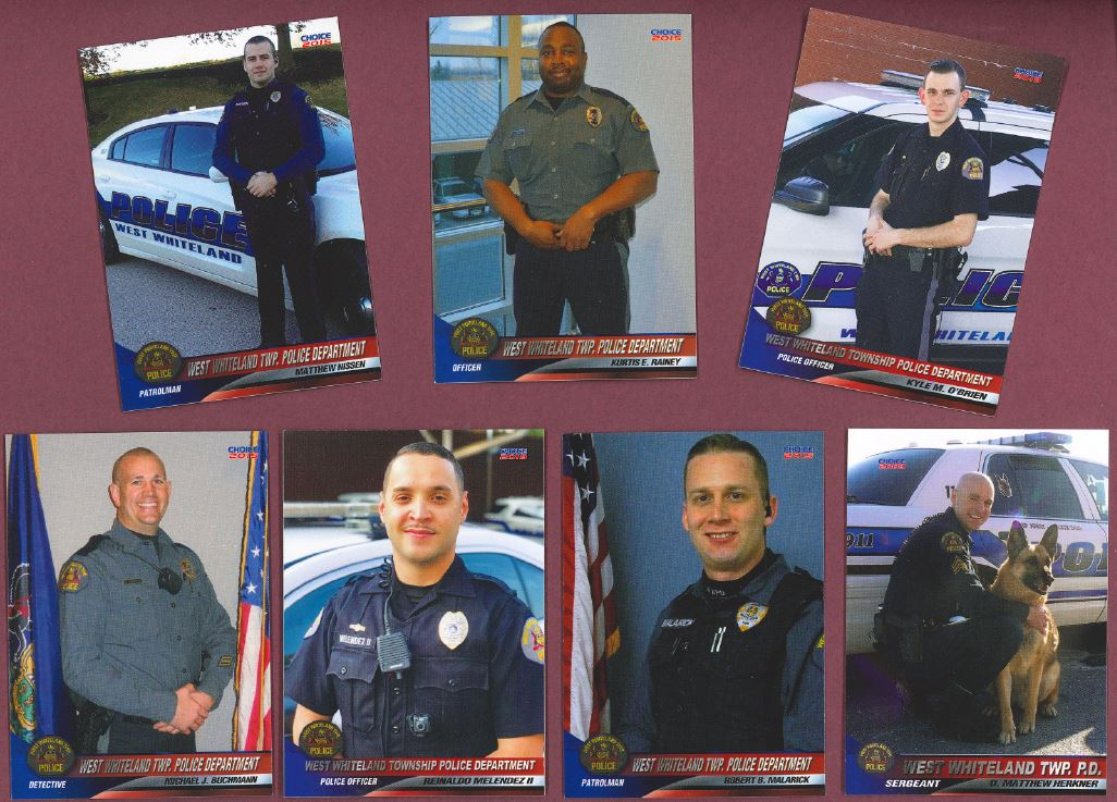 Police Trading Cards