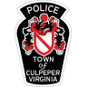 Culpeper Police Department Badge