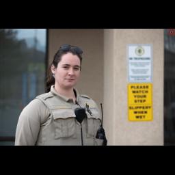 Patrol Service Technician Catherine Bowers