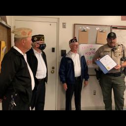 VFW Post 3981 recognizes Sgt. Montez for his service