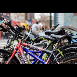 """This is an image of bicycles """"Bicycle Parking"""" by drpavloff is licensed under CC BY-NC 2.0"""