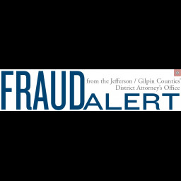 This is an image of the Jefferson County District Attorney's Fraud Alert Poster.