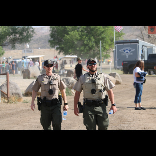 Deputies patrolling Country Jam