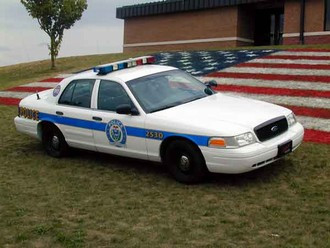 2003 Ford Crown Victoria Patrol Car