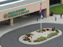 Front of Mesa County Sheriff's Office Building