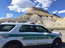 Patrol car in Mesa County