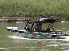 Patrol boat on the Colorado River
