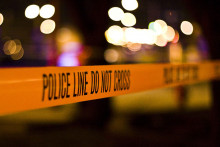 This is an image of a police crime scene tape.