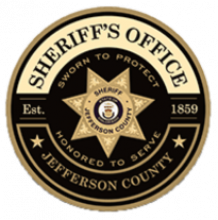 This is an image of the Jefferson County Sheriff's Office Badge.