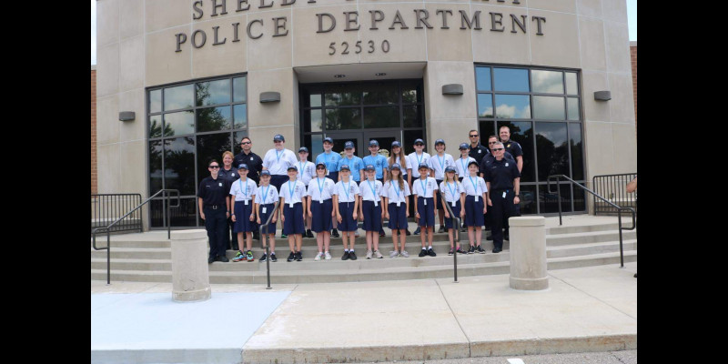 Image for Congratulations to the 2021 Youth Law Enforcement Academy Graduates!