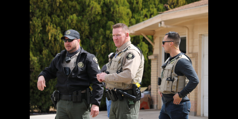 Image for Inside Your Sheriff's Office: Partnering with Area Law Enforcement