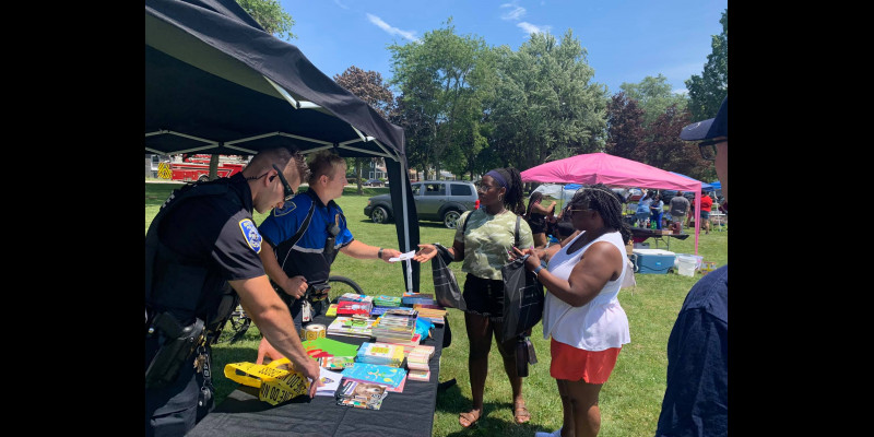 Image for BATAVIA POLICE COMMUNITY NIGHT OUT EVENT RECEIVES OUTPOURING OF SUPPORT