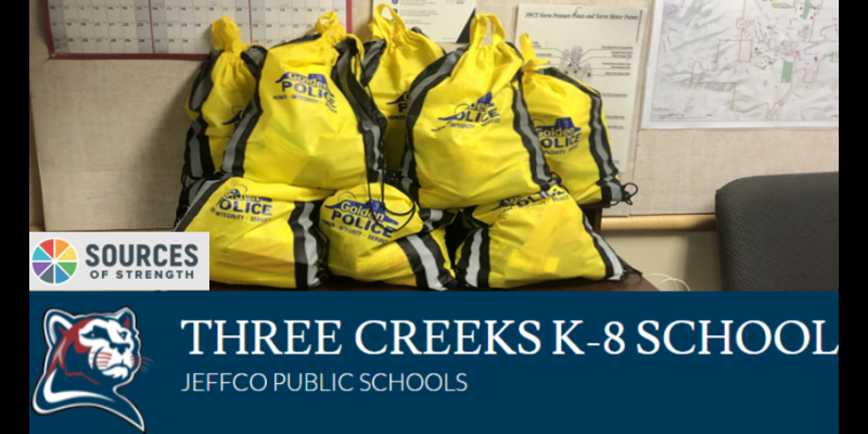 Image for A Big THANK YOU to the Sources of Strength Club, Three Creeks K-8