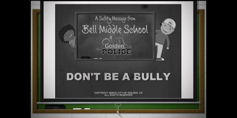 Image for Don't Be A Bully PSA