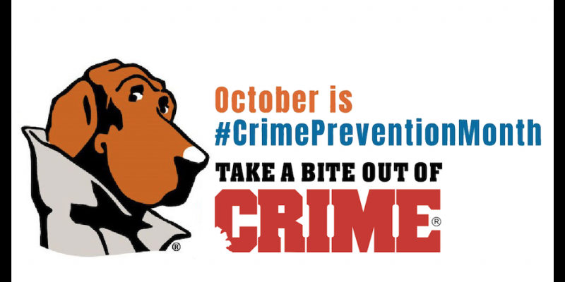 Image for October is Crime Prevention Month