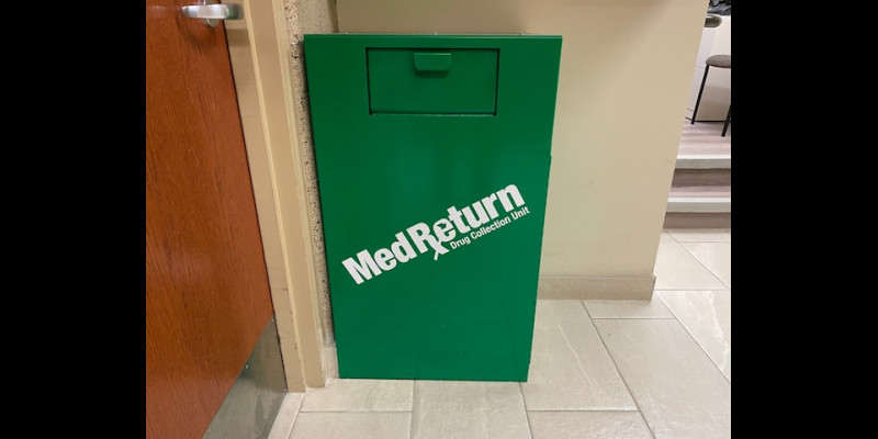 Image for Unused medication Drop Box